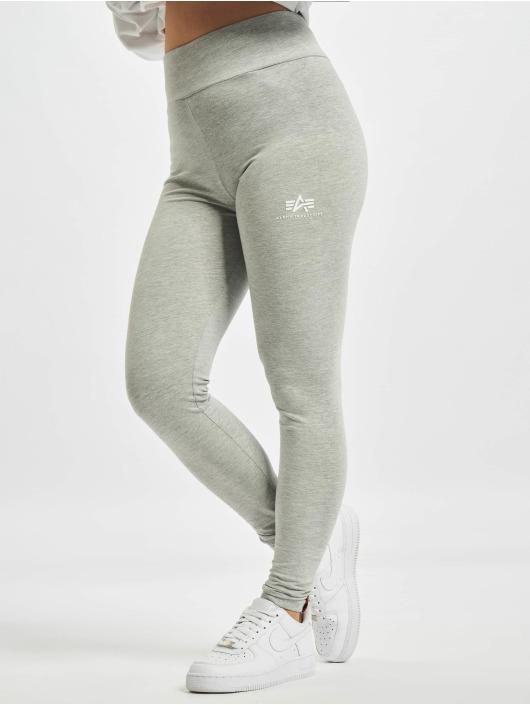 Alpha Industries Leggings Basic Sl grigio