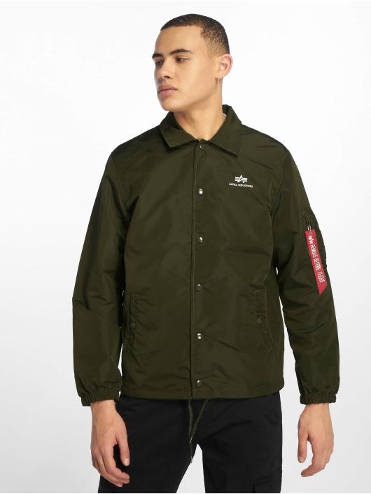 Alpha Industries Lightweight Jacket Coach green