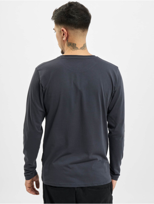 Alpha Industries Longsleeve Basic blauw