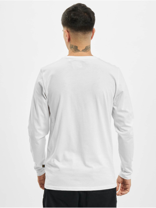 Alpha Industries Longsleeve Basic white