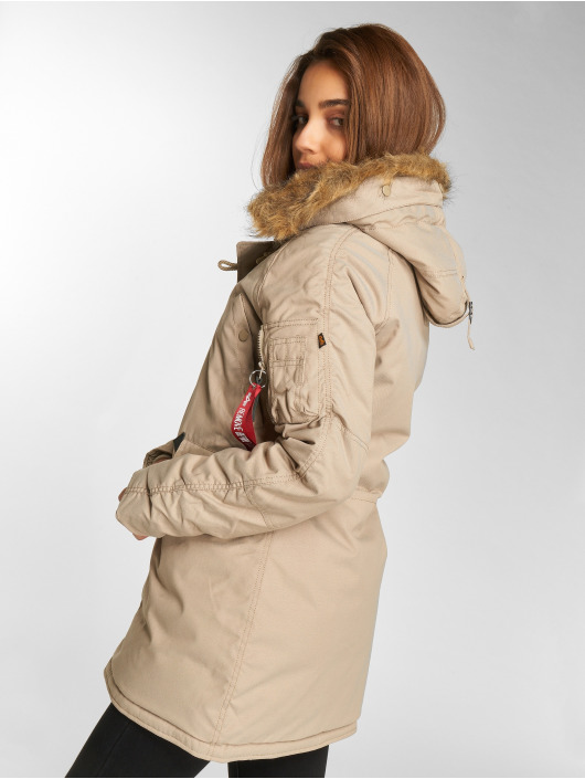 Alpha Industries Manteau hiver Explorer kaki