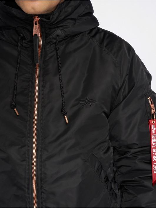 Alpha Industries Manteau hiver N2-B VF PM noir