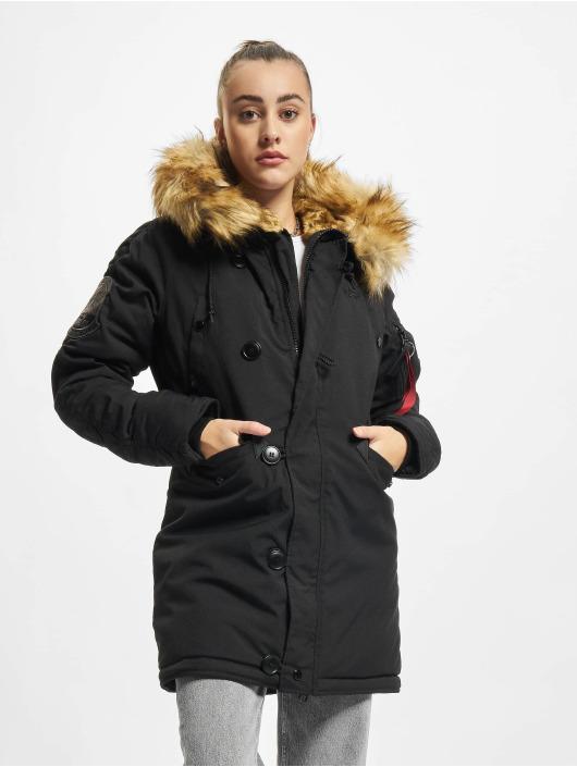 Alpha Industries Manteau hiver Explorer noir