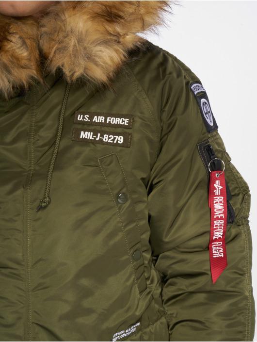 Alpha Industries Manteau hiver N3B vert