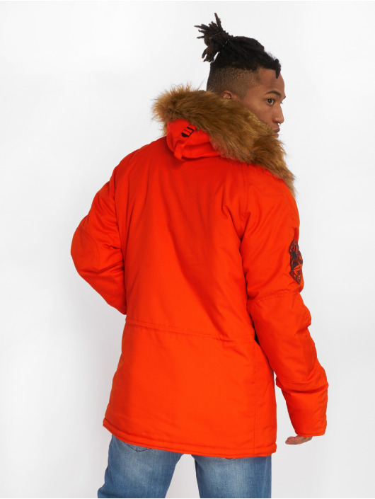 Alpha Industries Manteau Explorer orange