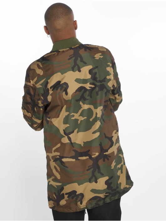 Alpha Industries Mantel Ma-1 camouflage
