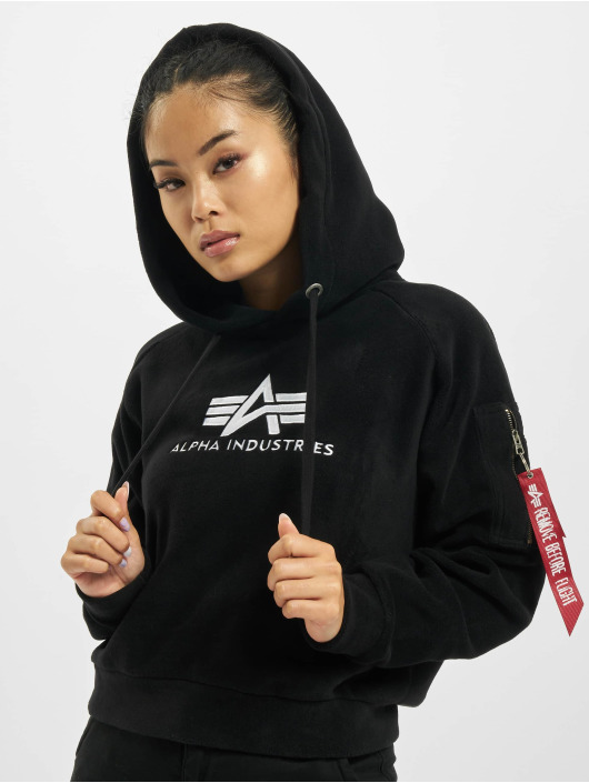 Alpha Industries Mikiny Polar Fleece èierna