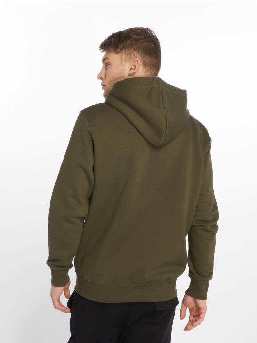 Alpha Industries Mikiny Basic Small Logo zelená