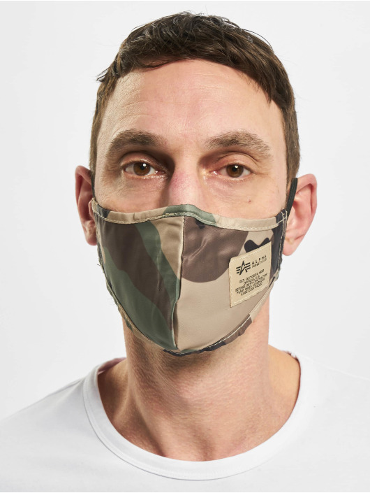 Alpha Industries More Tactical Face Mask camouflage