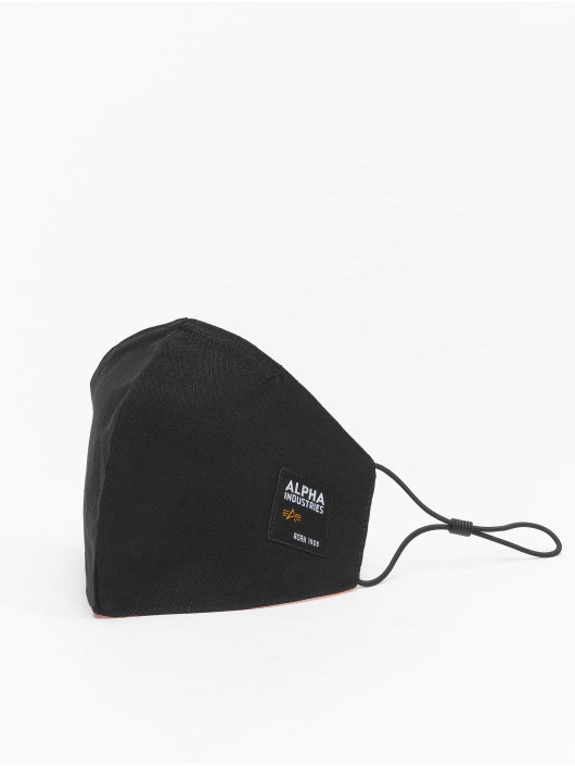 Alpha Industries Other Label Ripstop Face Mask black
