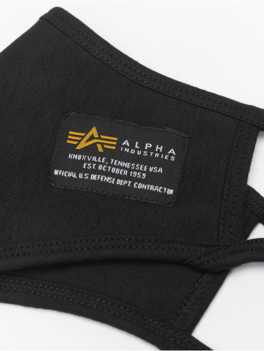 Alpha Industries Other Heavy Crew Face Mask black