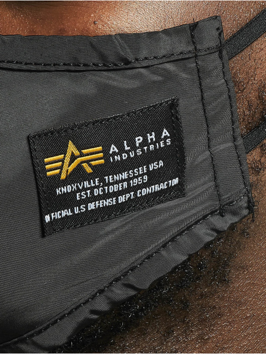Alpha Industries Otro Crew Face Mask negro