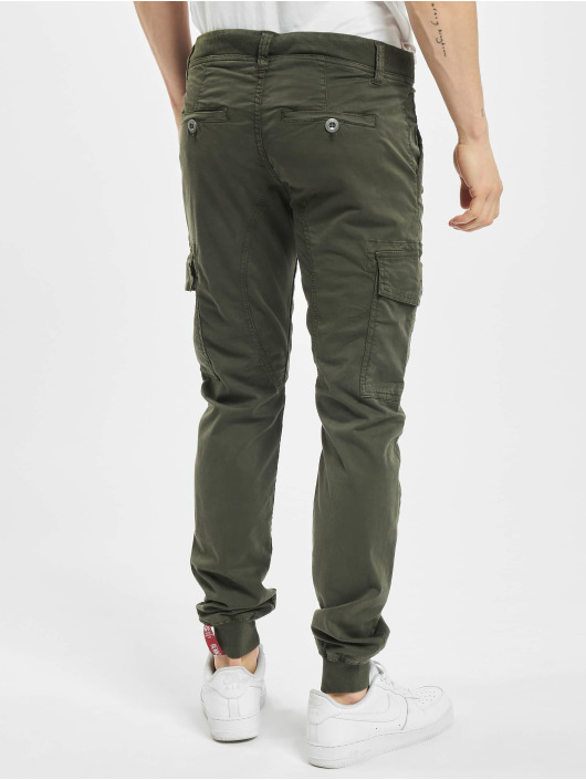 Alpha Industries Pantalon cargo Spark gris