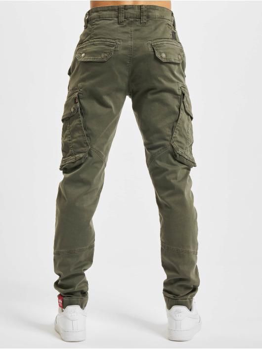 Alpha Industries Pantalon cargo Combat LW gris