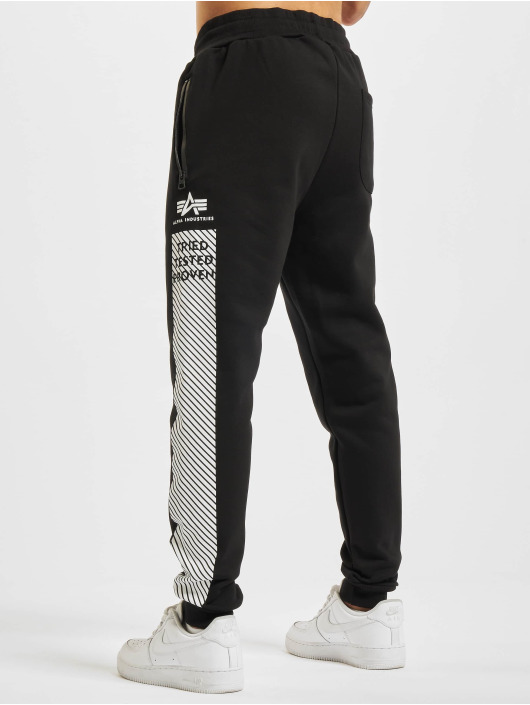 Alpha Industries Pantalón deportivo Safety Line negro