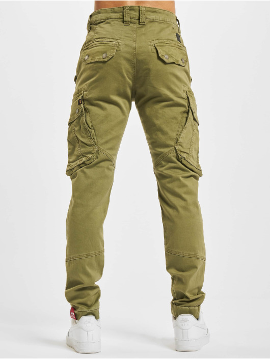 Alpha Industries Pantalone Cargo Combat LW oliva