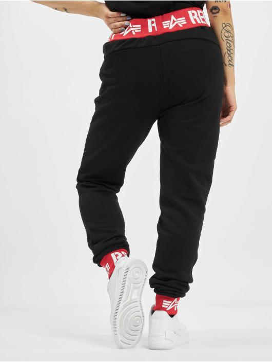 Alpha Industries Pantalone ginnico Rbf Rib nero