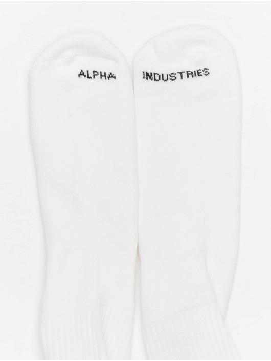 Alpha Industries Ponožky RBF biela