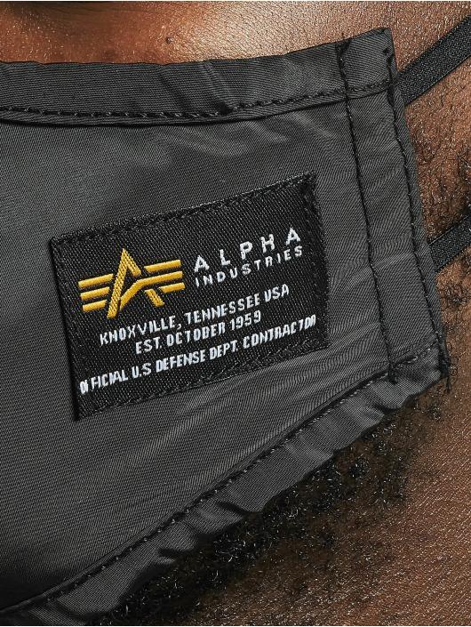 Alpha Industries Pozostałe Crew Face Mask czarny
