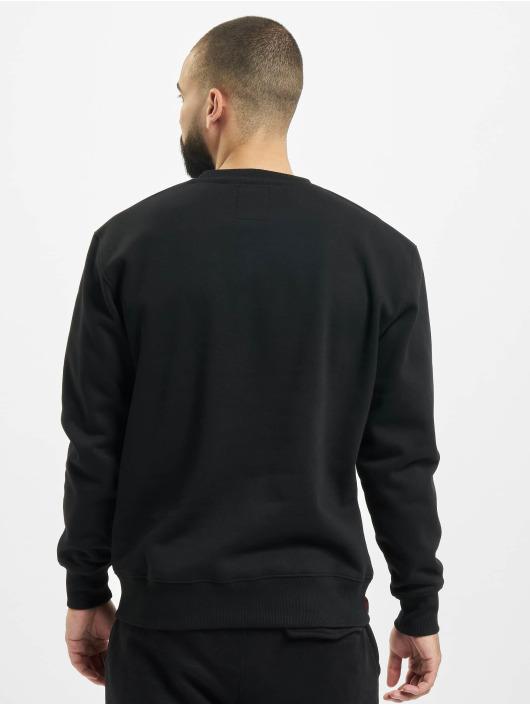 Alpha Industries Pullover Basic Foil Print black