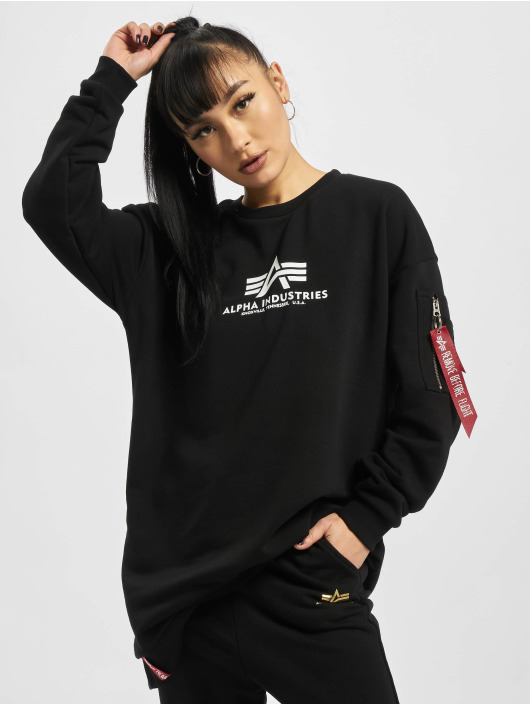 Alpha Industries Pullover Basic Long black