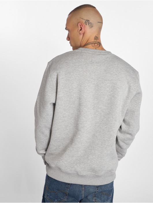 Alpha Industries Pullover Basic Small Logo grau