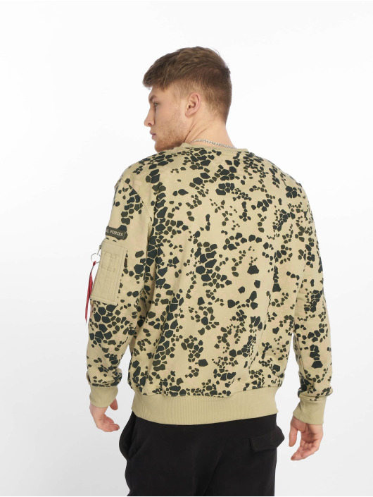 Alpha Industries Pullover Special Forces grün