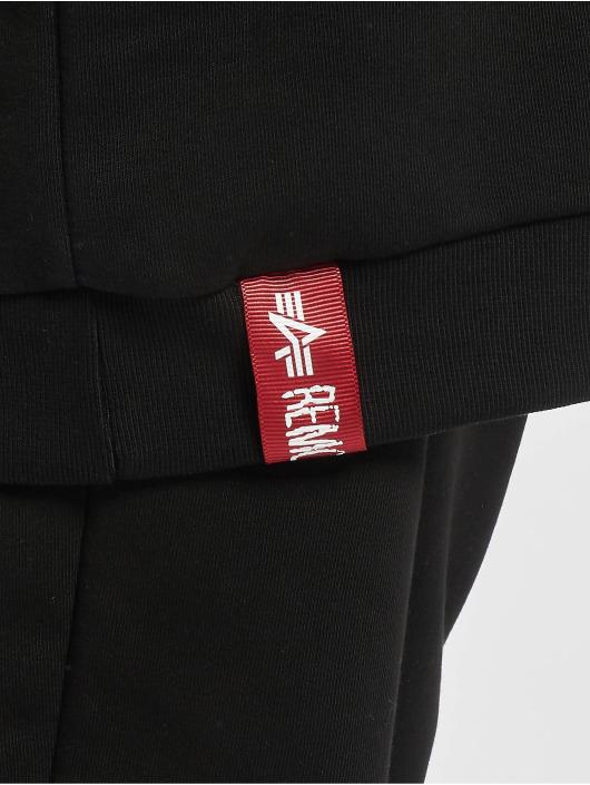 Alpha Industries Pullover Basic Long schwarz
