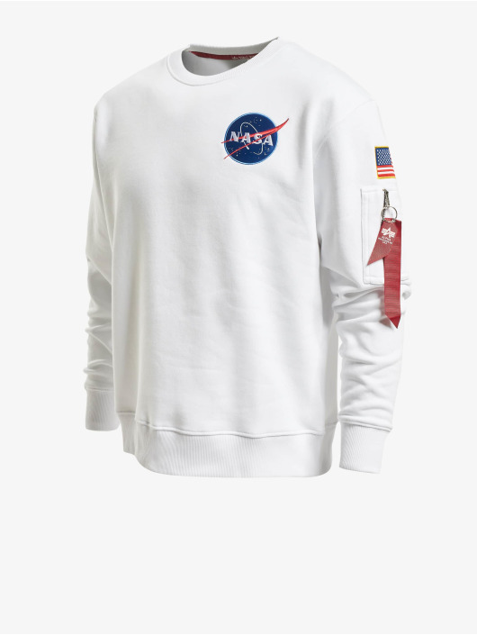 Alpha Industries Pullover Space Shuttle weiß