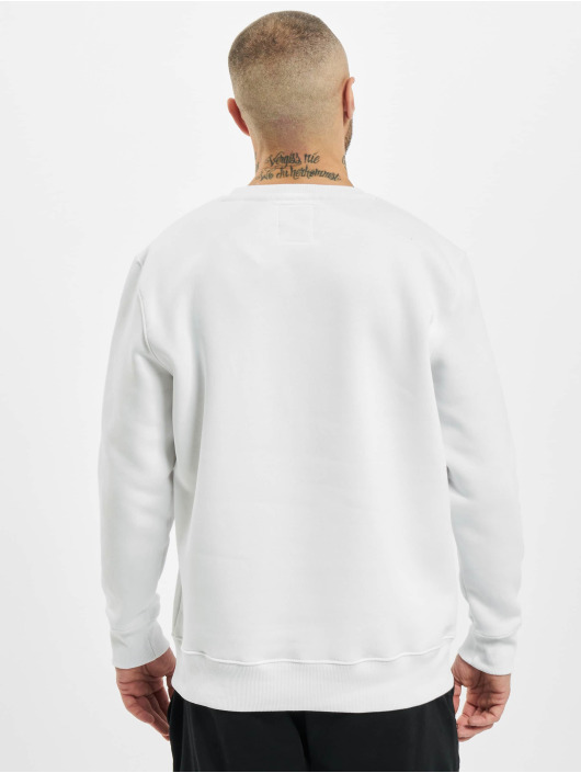 Alpha Industries Pullover Basic Small Logo Foil Print weiß