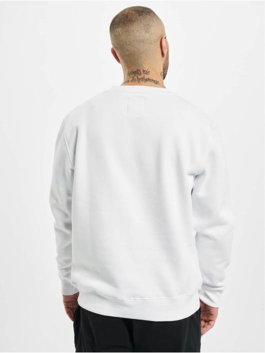 Alpha Industries Pullover Basic Neon Print white