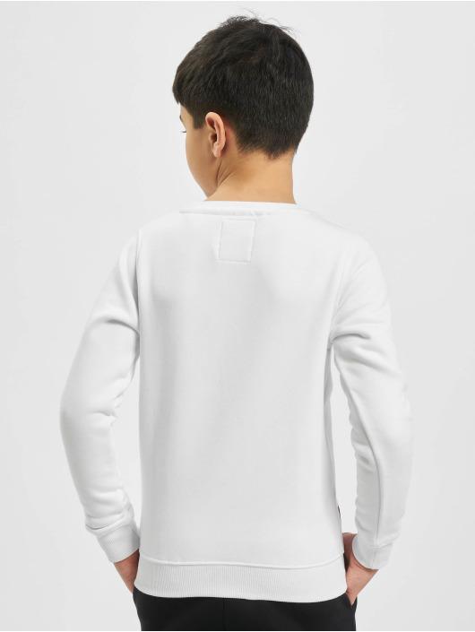 Alpha Industries Pulóvre Basic Sweater biela