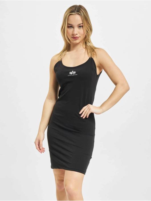 Alpha Industries Robe Basic Dress Small Logo noir