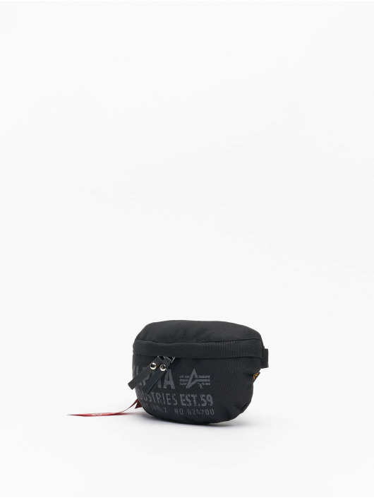 Alpha Industries Sac Cargo Oxford Waist Bag noir