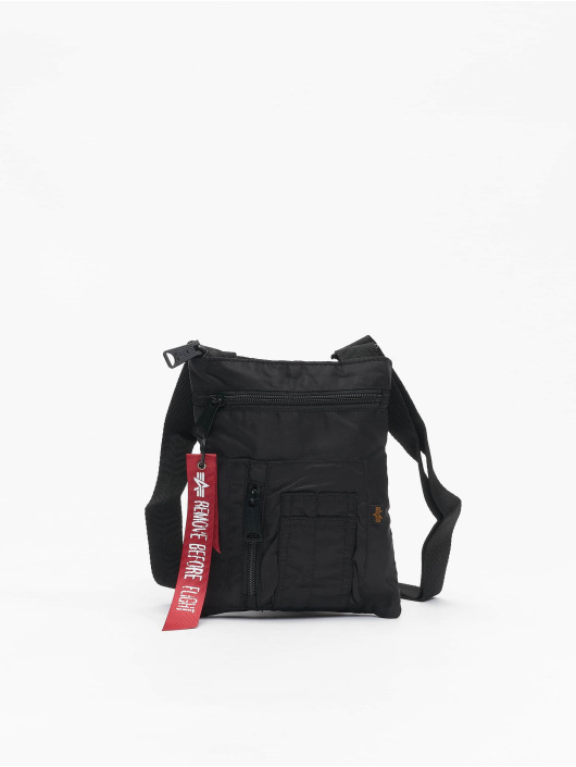 Alpha Industries Sac Crew Messenger noir