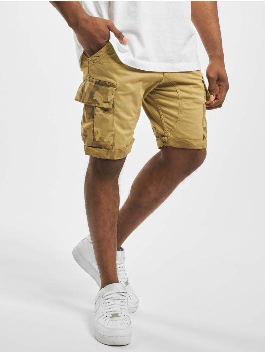 Alpha Industries Short Camo Pocket beige