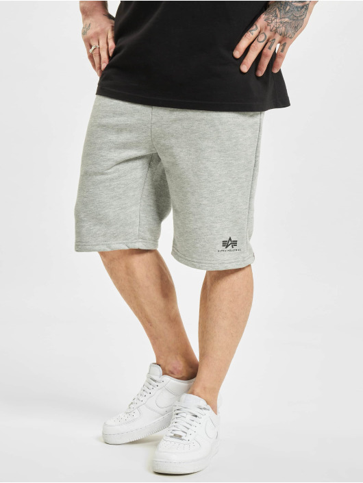Alpha Industries Short Basic Sl gris