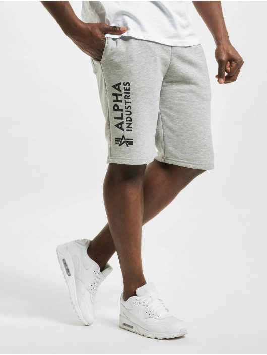 Alpha Industries Short Basic A gris