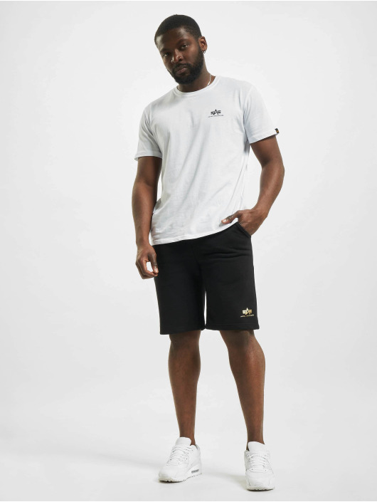 Alpha Industries Short Basic Sl Foil Print noir