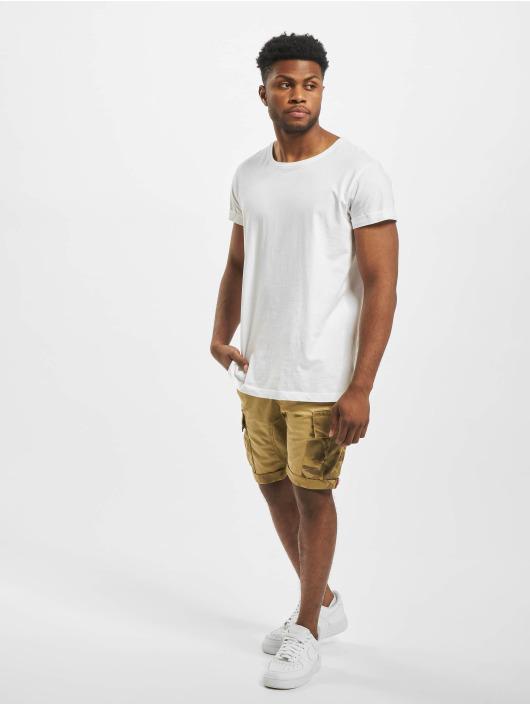 Alpha Industries Shorts Camo Pocket beige