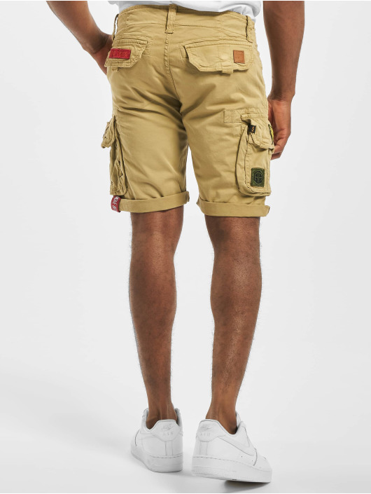 Alpha Industries Crew Short Patch Sand