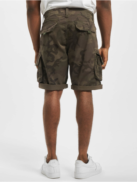 Alpha Industries Shorts Crew Camo camouflage