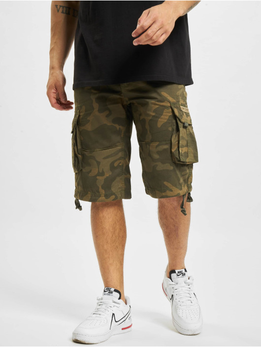 Alpha Industries shorts Jet Camo camouflage
