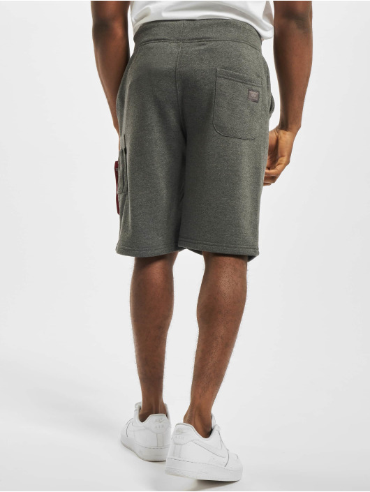 Alpha Industries Shorts X-Fit Cargo grau