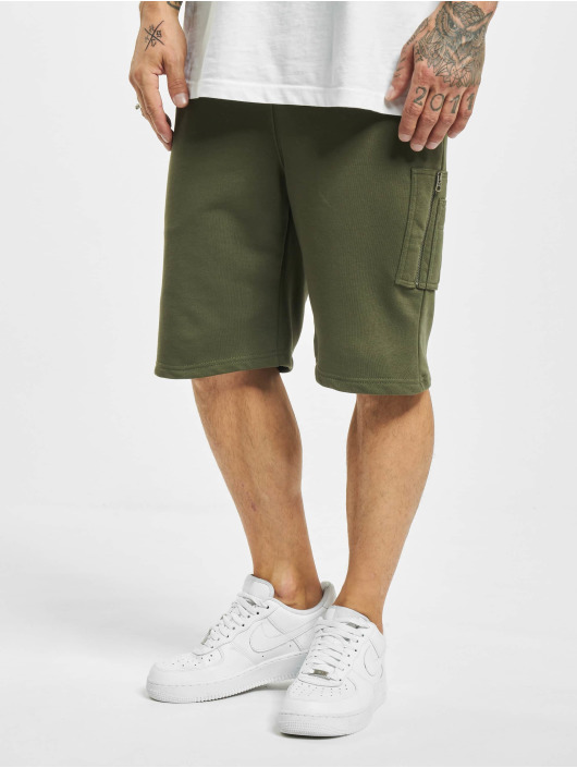 Alpha Industries Shorts X-Fit grün