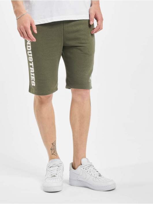 Alpha Industries Shorts Big Letters grün