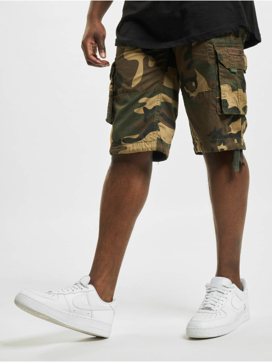 Alpha Industries Shorts Jet kamouflage