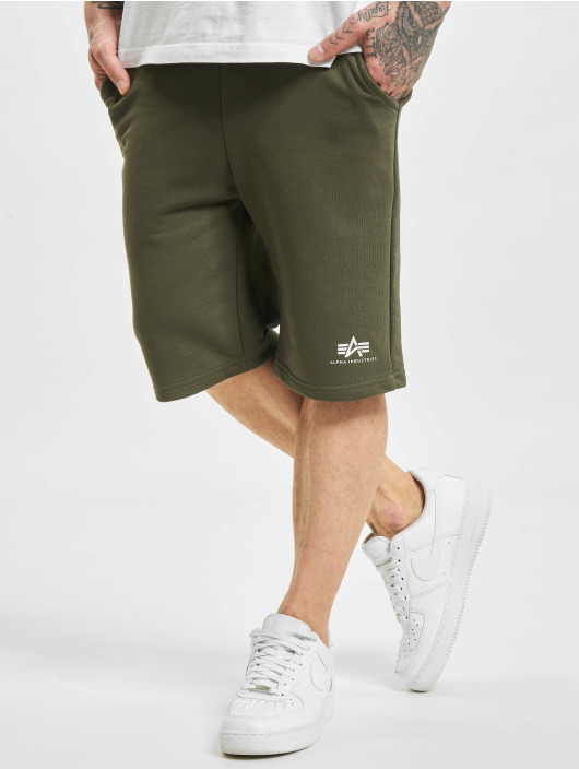 Alpha Industries shorts Basic Sl olijfgroen