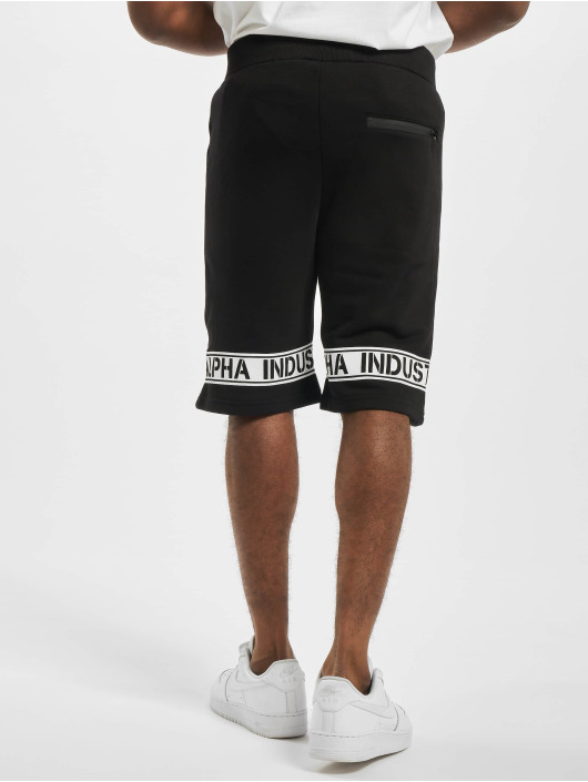 Alpha Industries Shorts Leg Print schwarz