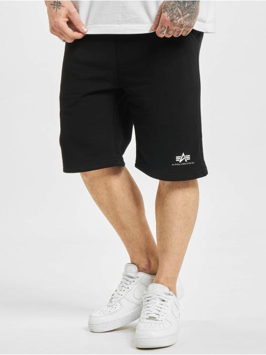 Alpha Industries Shorts Basic Sl schwarz